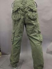 NWT SUPERDRY CARGO PANTS MS71T129 GDC MEN'S MILITARY GREEN SIZE 2XL 38X32