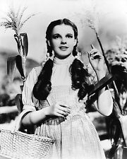 JUDY GARLAND DOROTHY WIZARD OF OZ 8X10 GLOSSY PHOTO PICTURE