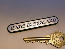 MADE in Inghilterra Ovoid Autoadesivo CLASSIC BRITISH MOTO AUTO BICI BADGE 3 ""