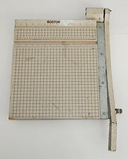 "Boston 2615 Paper Trimmer Cutter Guillotine Style 15"" Square"