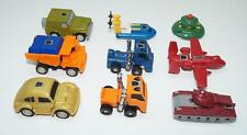 Lot 8 of 9 Autobots Minicars ---100% Complete 1985 G1 Transformers Action Figure
