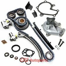 "TIMING CHAIN KIT w/ WATER PUMP for 93-97 NISSAN ALTIMA 2.4L ""KA24DE"" Engine"