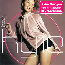 "CD SP 2T KYLIE MINOGUE ""SPINNING AROUND"""