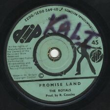 "Royals ‎– Promise Land / Every Jamaican Is A Rebel ORIG UK 7"" DIP 1974 ROOTS"