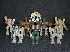 Matchbox / Playmates ROBOTECH EXO SQUAD Figures Lot / Loose