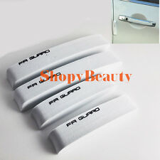 Car Door Edge Guard Letter Trim Protection Scratch Protector Covers EVA White