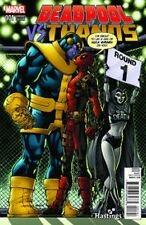 DEADPOOL VS THANOS 1 RARE TODD NAUCK HASTINGS VARIANT NM