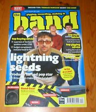 THE BAND magazine LIGHTNING SEEDS Ian Broudie Teenage Fanclub The Cure Wireless