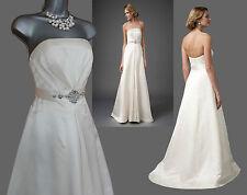 MONSOON Ivory Allanah Embellished Waist Strapless Wedding Maxi Dress UK 8 £699