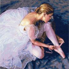 COUNTED CROSS STITCH Dimensions Kit BALLERINA BEAUTY 14 x14 Dance Ballet