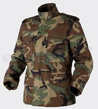 HELIKON TEX US M65 Jacke Army Military Field Jacket woodland camouflage 3XLR