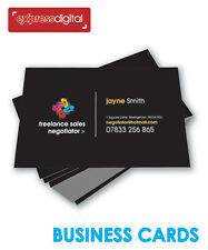 >>PREMIUM 100 x Business cards Colour single sided printing service - FREE P+P<<
