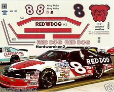NASCAR DECAL # 8 RED DOG 1995-96 FORD THUNDERBIRD - KENNY WALLACE