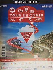 60th Tour de Corse Rallye de France Official Programme 2017  WRC    78 Pages