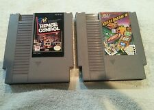 MTV Remote Control  & Vegas Dream (NES, 1990) Nintendo Game Cartridge Only Lot