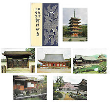 Japan Sanboin Daigo Ji Temple Kyoto Buildings Rooms 6 Vtg Postcards 4X6 w Folder