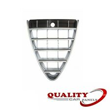 FRONT BUMPER TOP MAIN GRILLE CHROME ALFA ROMEO 147 2007-2011 INSURANCE APPROVED