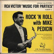 "RARE MIKE PEDICIN ""ROCK AND ROLL WITH"" 50'S EP RCA VICTOR ALB. 2"