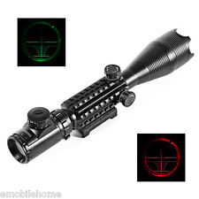 C4-16X50 EG 20mm Water Resistant Scope Laser for Rifle Hunting Kit Shock proof