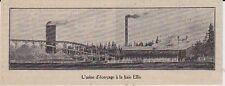 1912  --  CANADA  L UISNE D ECORCAGE A LA BAIE ELLIS   3H370