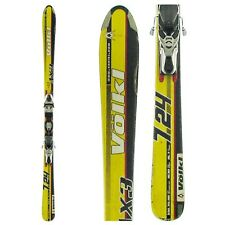 VOLKL 724 AX3 all mountain alpine skis 163 cm + MARKER M12 adjustable bindings
