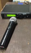 Shure ULXP4 Wireless Receiver And ULX2 SM58 Handheld Microphone 554-590 J1 Band
