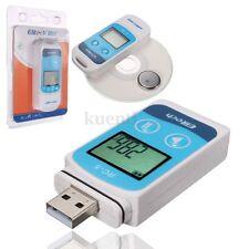 RC-5 32000 Point USB Temperature Data logger Datalogger Recorder Internal Sensor