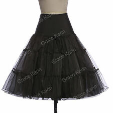 Vintage Style Wedding Underskirt 50's Swing Crinoline Petticoat Dress
