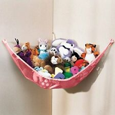 NEW DOZENEGG Deluxe Pet Net - Stuffed Animal & Toy Organizer - Hammock PINK NET