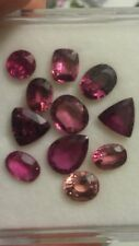 Natural Pink Tourmaline & Rubellite Gem Lot 11 Pieces 14.79 Carats