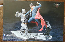 2016 SDCC WONDERCON KOTOBUKIYA USA JAPAN DC SUPERMAN VS BATMAN PROMO CARD