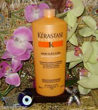 KERASTASE NUTRITIVE BAIN OLEO CURL 1000ml or 34oz NEW FRESH!!! SHIPS FAST!!!