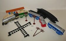 Vintage Santa Fe Express Toy Train Set