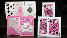 BICYCLE BREAST CANCER FOUNDATION PLAYING CARDS!!!!