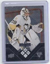 08-09 2008-09 BLACK DIAMOND MARC-ANDRE FLEURY QUAD DIAMOND 184 PENGUINS