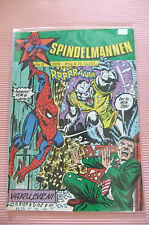 4.5 VG+ VERY GOOD AMAZING SPIDER-MAN # 125 SWEDISH EURO VARIANT CP YOP 1979