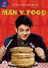 Man v. Food: Season 2 [2 Discs] (2010, REGION 1 DVD New)