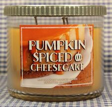 1 Bath & Body Works PUMPKIN SPICED CHEESECAKE 3-Wick Scented 14.5 oz Candle
