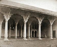 The Old Palace in the Fort at Bangalore India 1870, 6x5 inch Reprint Photo