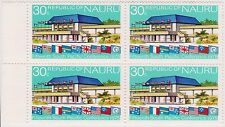(Pie-32) 1975 Nauru 30c 5th pacific conference Muh (A)
