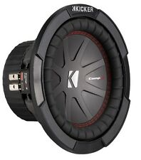 "Kicker 43CWR84 8"" Dual Voice Coil Car Audio Subwoofer - 300w RMS"