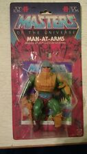 VINTAGE Top Toys Man At Arms 80s HE-MAN MOTU RARE Argentina with card
