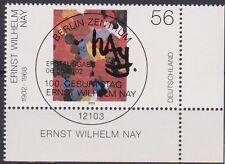 Bund 2267 , Eckrandstück mit Berliner ESST Stempel