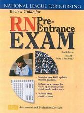 Review Guide For Rn Pre Entrance Exam by Mary E Mcdonald