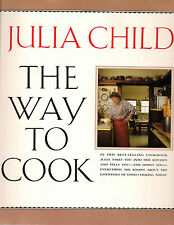 Julia Child Signed The Way to Cook 1993 Paperback Dallas Book Signing SoftCover