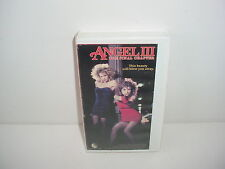 Angel III The Final Chapter VHS Video Tape Movie White Case Maud Adams