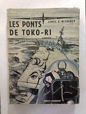LES PONTS DE TOKO RI 1955 JAMES MICHENER AVION GUERRE