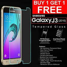 9h Hardness HD Temper Glass Screen Protector For Samsung Galaxy J3 { PACK OF 2 }