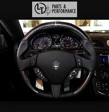 Echt Carbon Leder Lenkrad für Maserati GranTurismo Grand Cabrio Gran Turismo