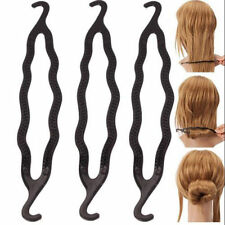 FASHION 3 x HAIR Twist Styling CLIP STICK CHIGNON MAKER Braid Tool Accessori per Capelli